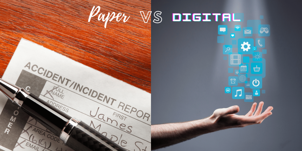 paper forms and digital forms